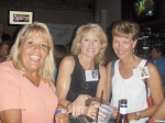 Susie Johnson, Pam Harmon and Pam Houghton